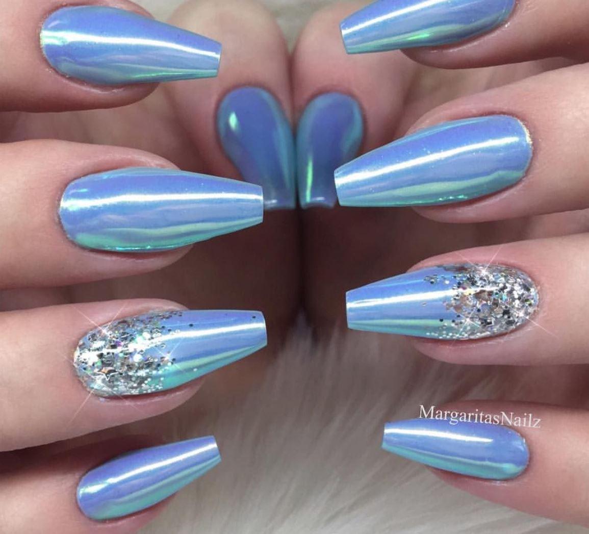acrylic nails ballerina