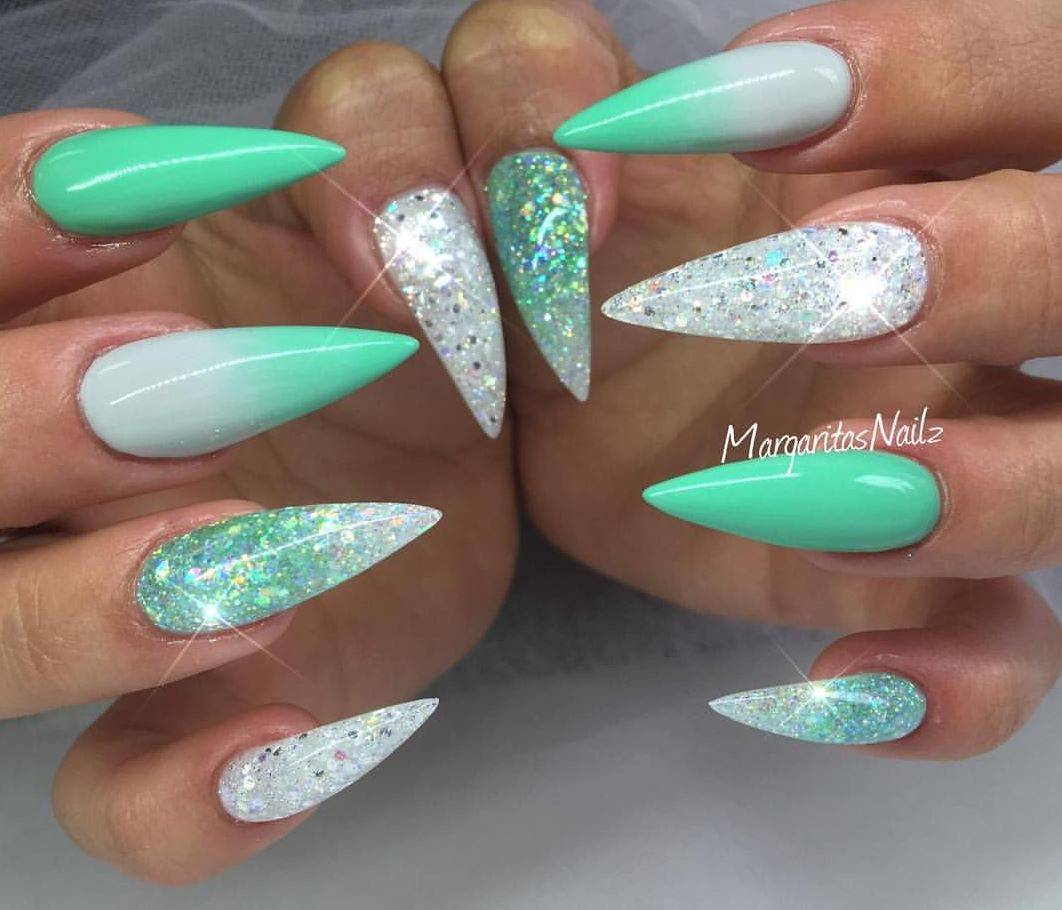 acrylic ombre nails