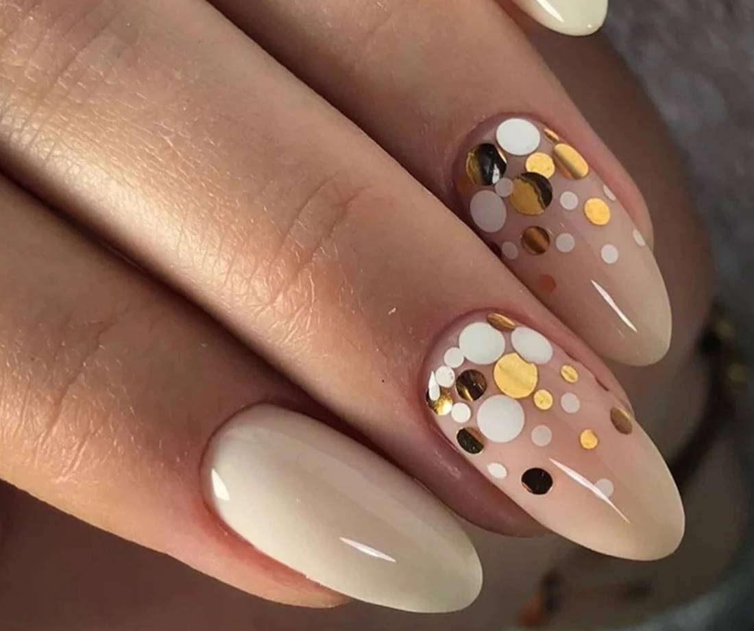 acrylic overlay on natural nails