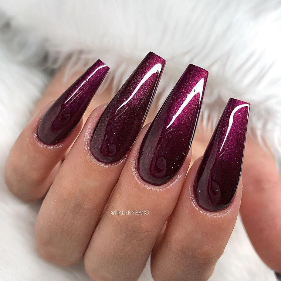 ballerina cut nails