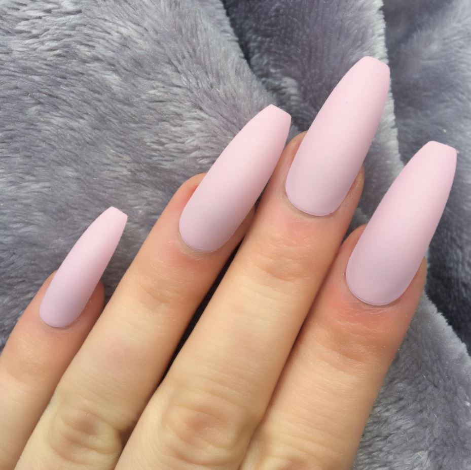 ballerina nails clear