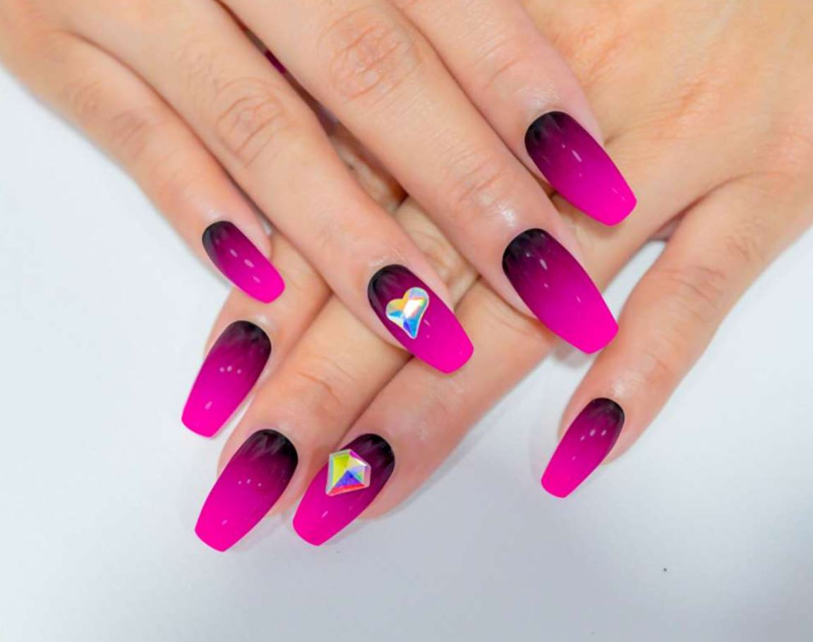 ballerina pink nails