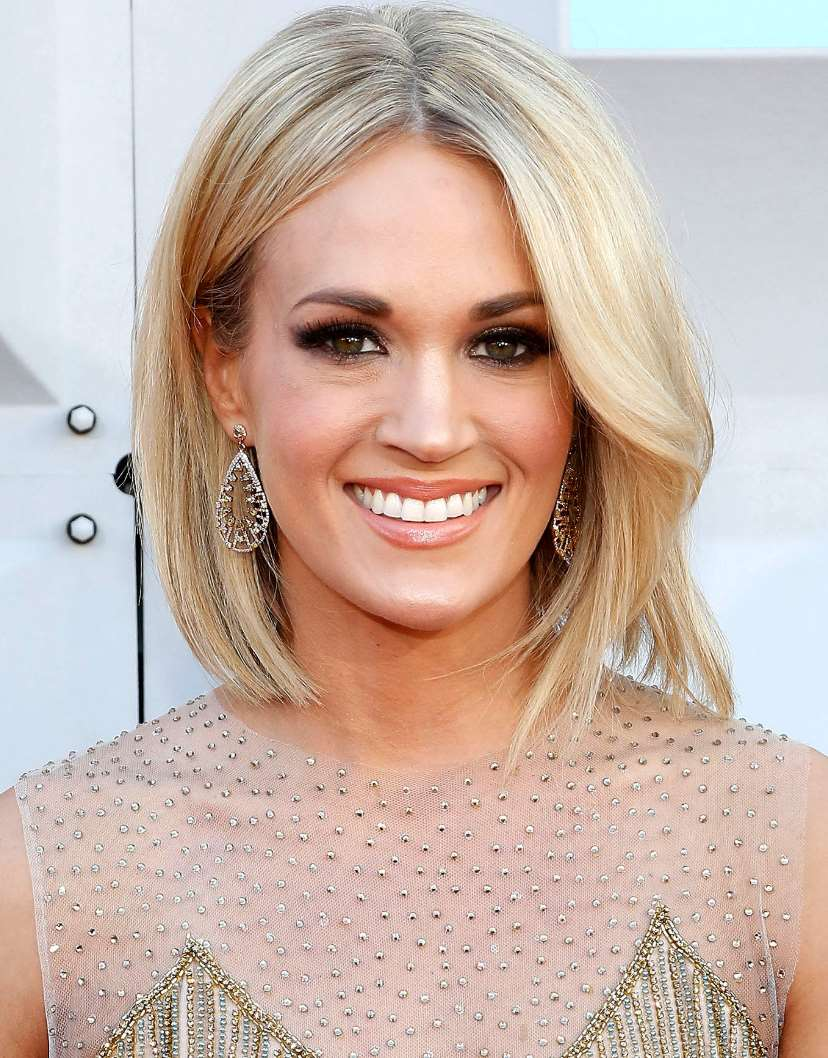 carrie underwood bob hairstyles