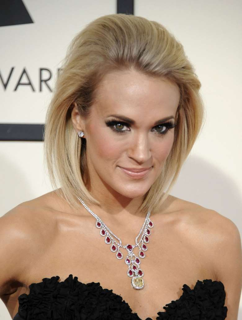 carrie underwood hairstyles prom
