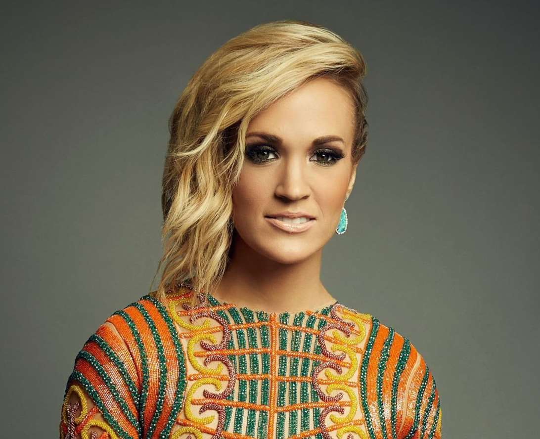 carrie underwood medium length hairstyles