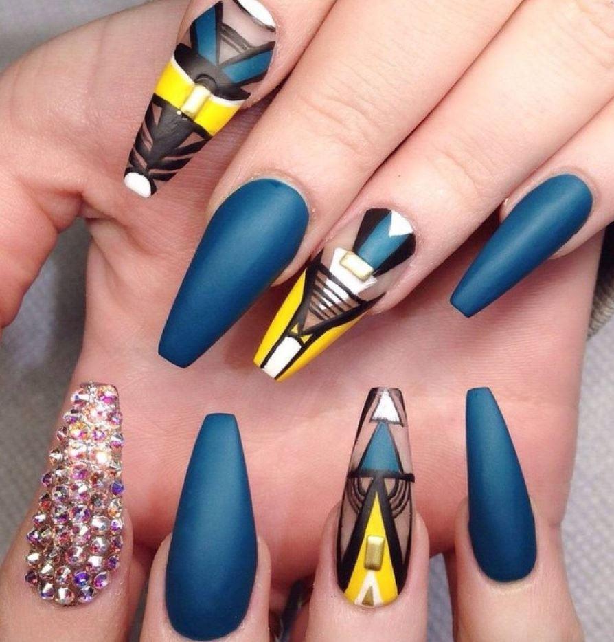 complex ballerina nails
