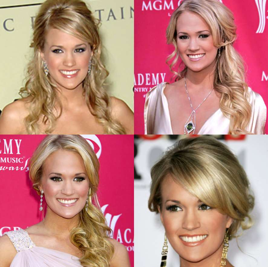 different curly hairstyles like carrie underwood