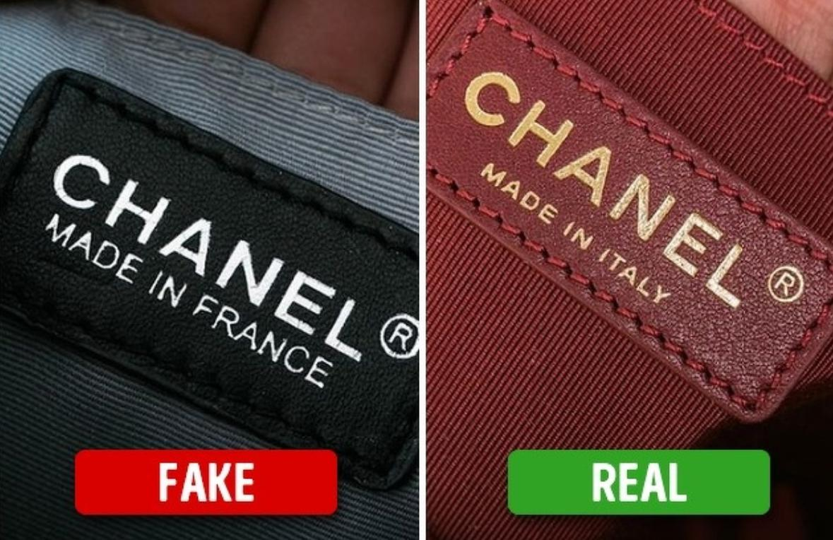 fake or real Brand names