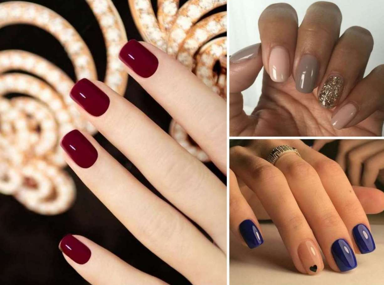 fall nail designs for short nails