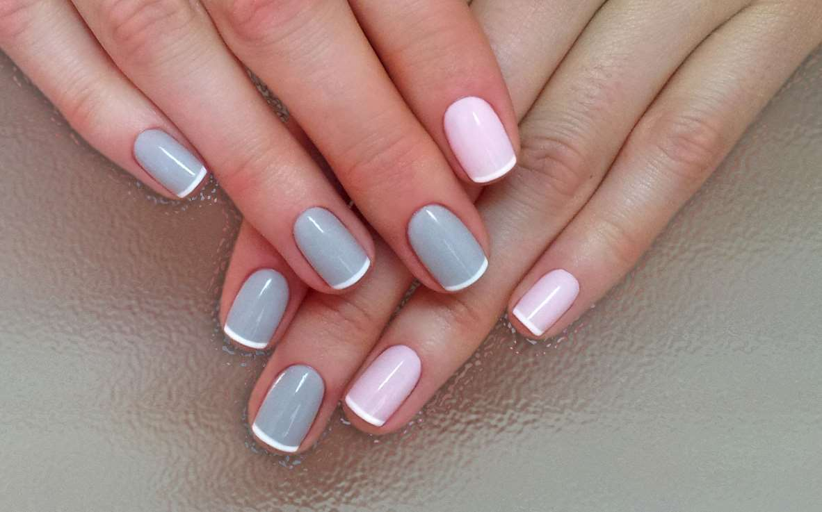 french nail designs for short nails