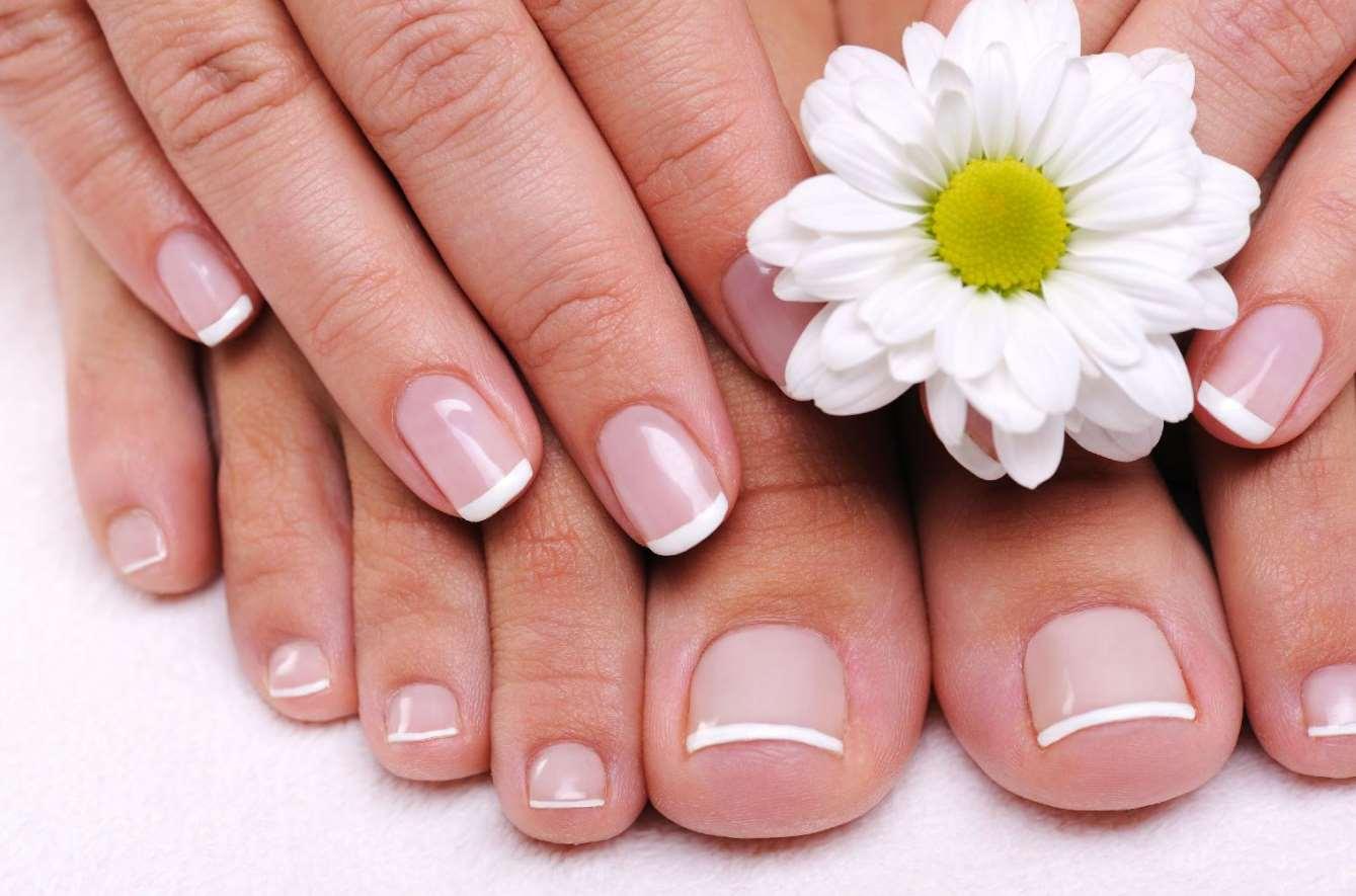 french toe nail designs