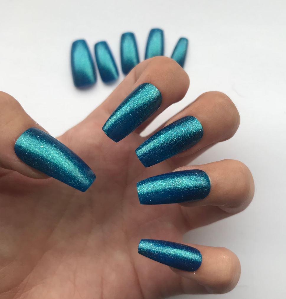 full cover ballerina nails