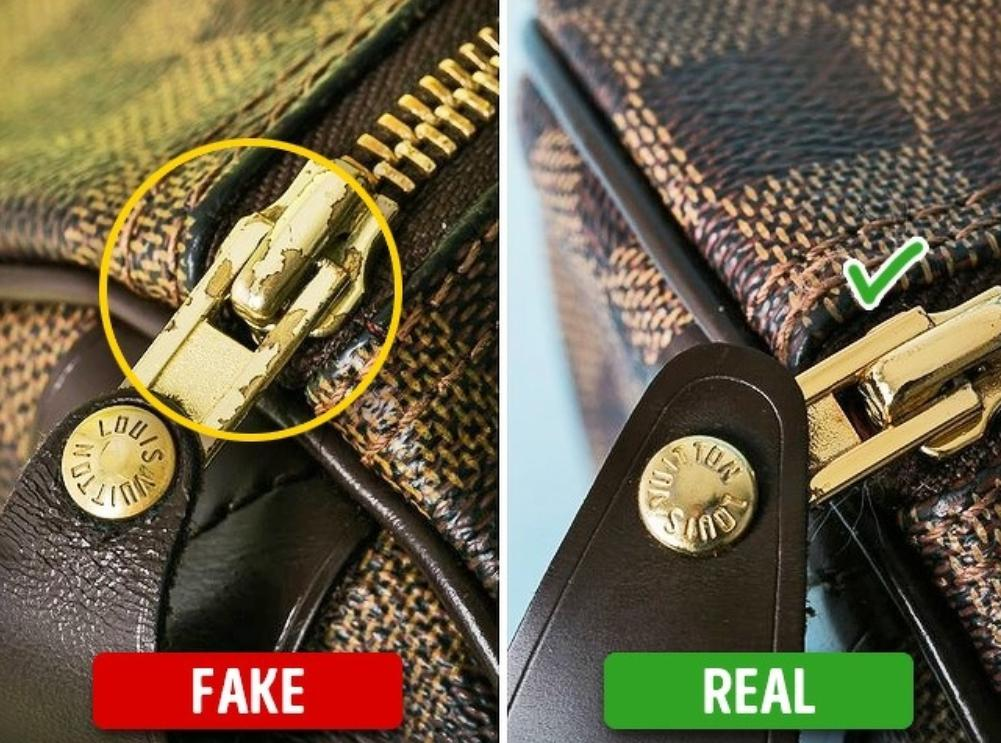 how to spot a fake handbag