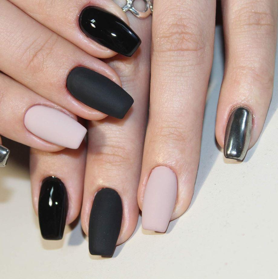 medium length ballerina nails