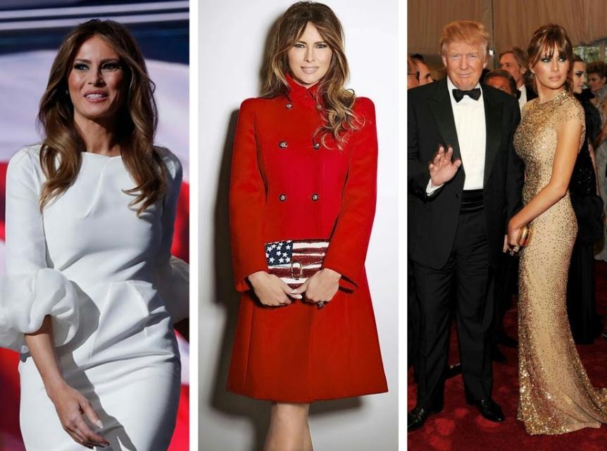 melania trump dress style