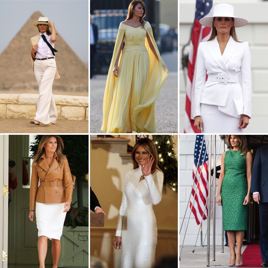 melania trump first lady style