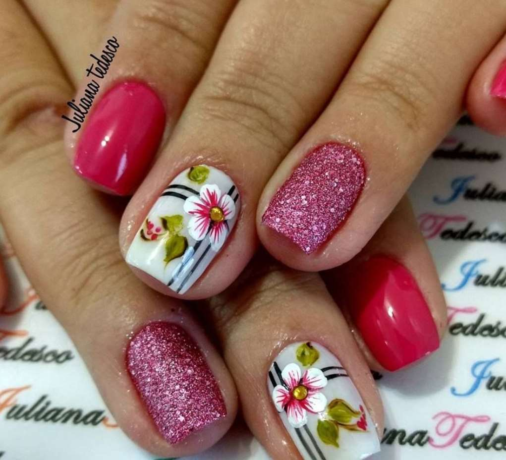 nail designs for short nails easy