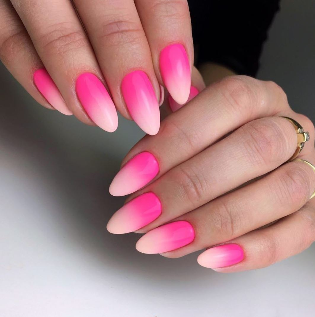 ombre acrylic nails
