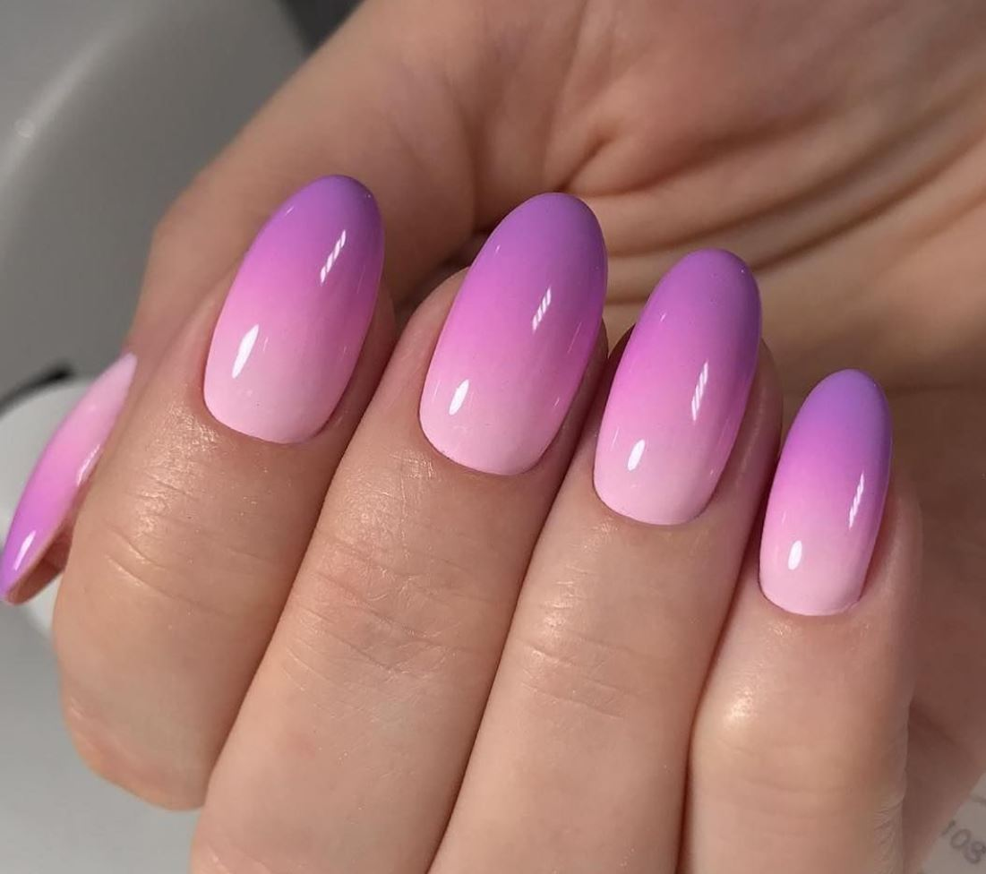 ombre nails gel