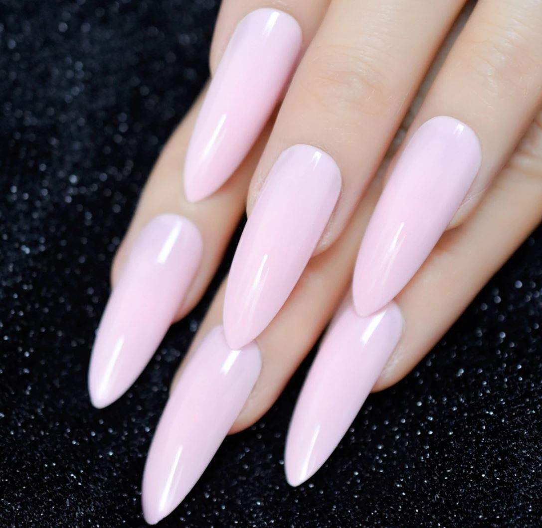 ombre nails nude