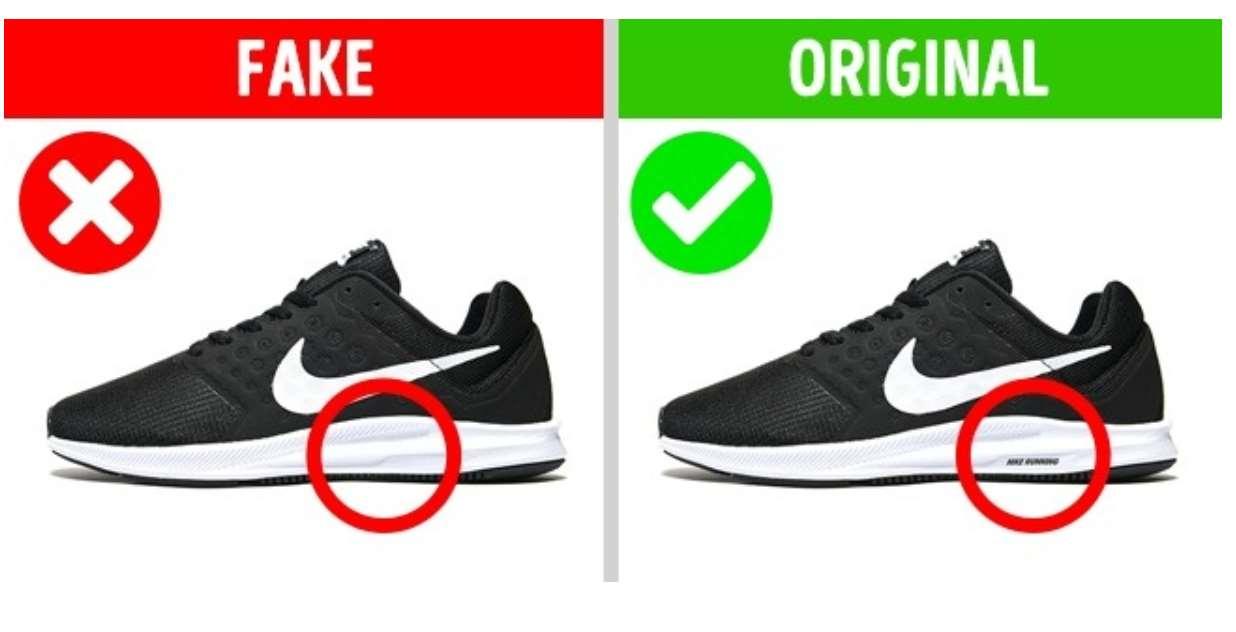original fake Nike
