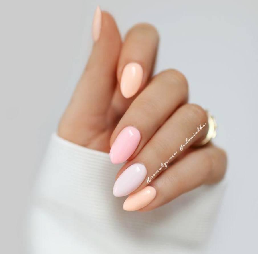pastel acrylic nails
