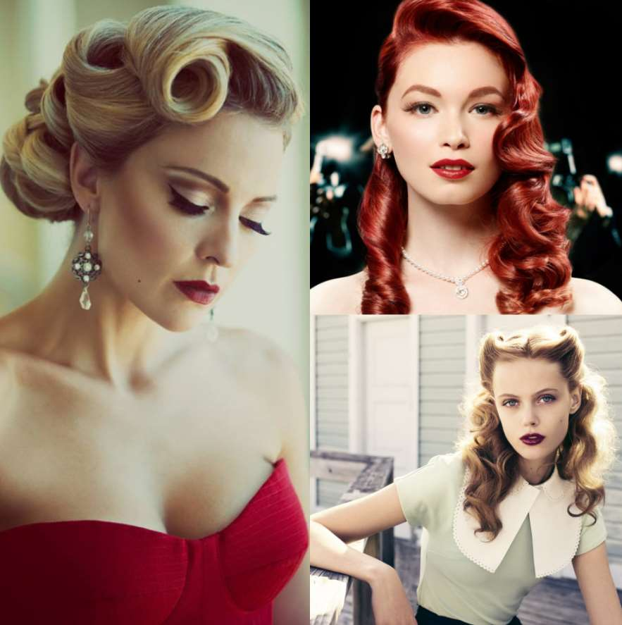 pinup wedding hairstyles