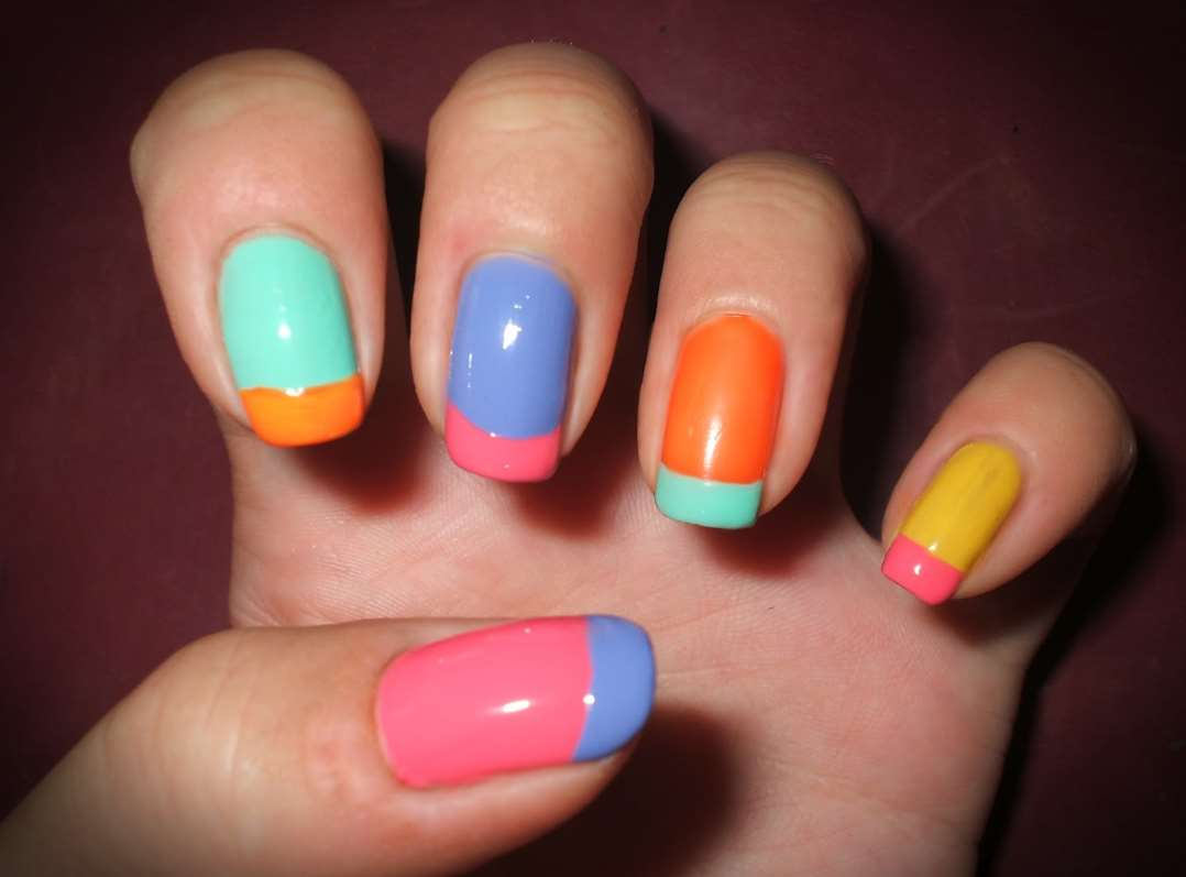 pretty and easy nail designs