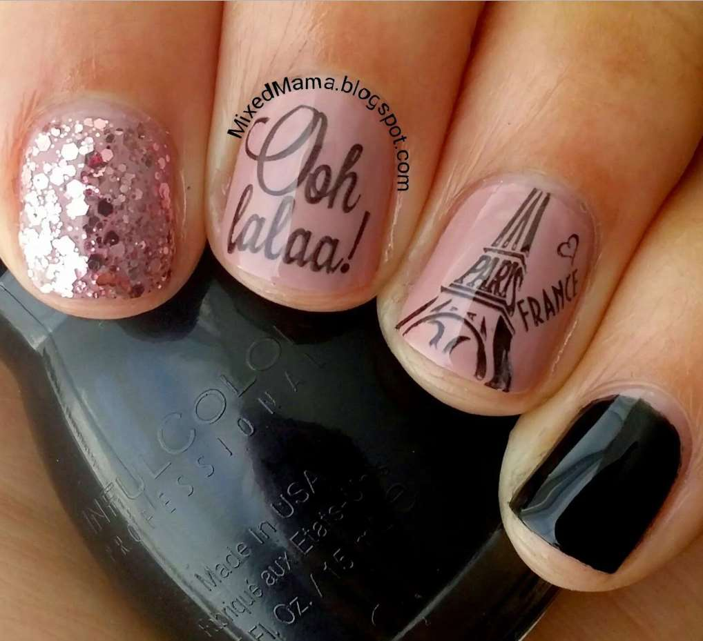 pretty nail designs for short nails