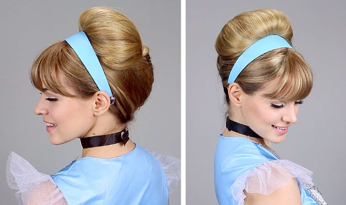 princess hairstyles buns