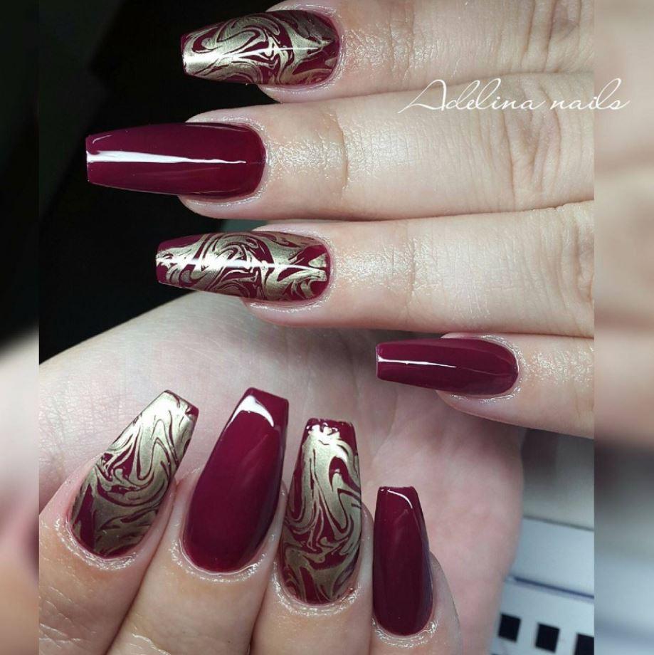 royal ballerina nails