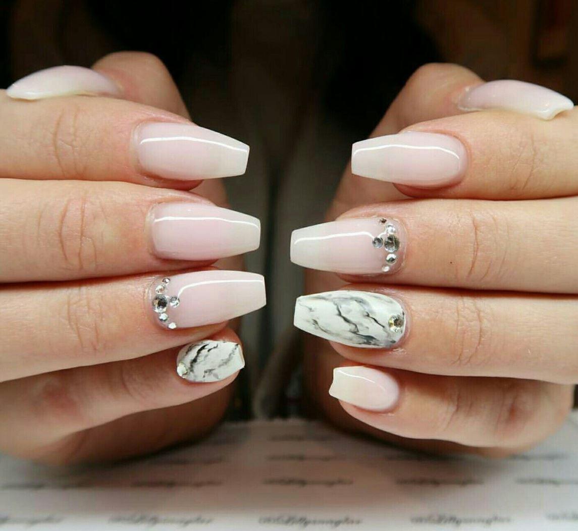 short ballerina nails