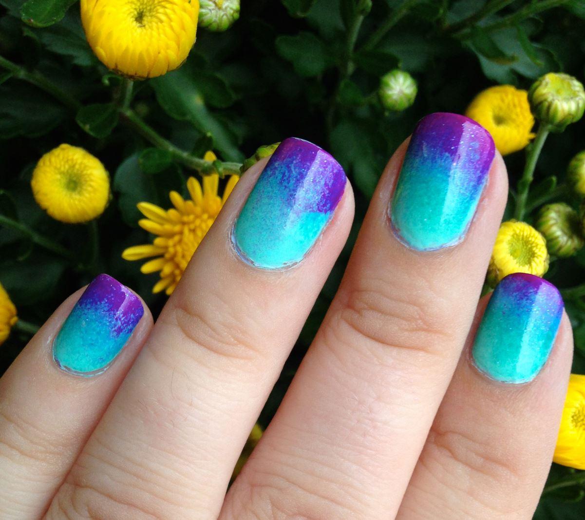 short ombre nails