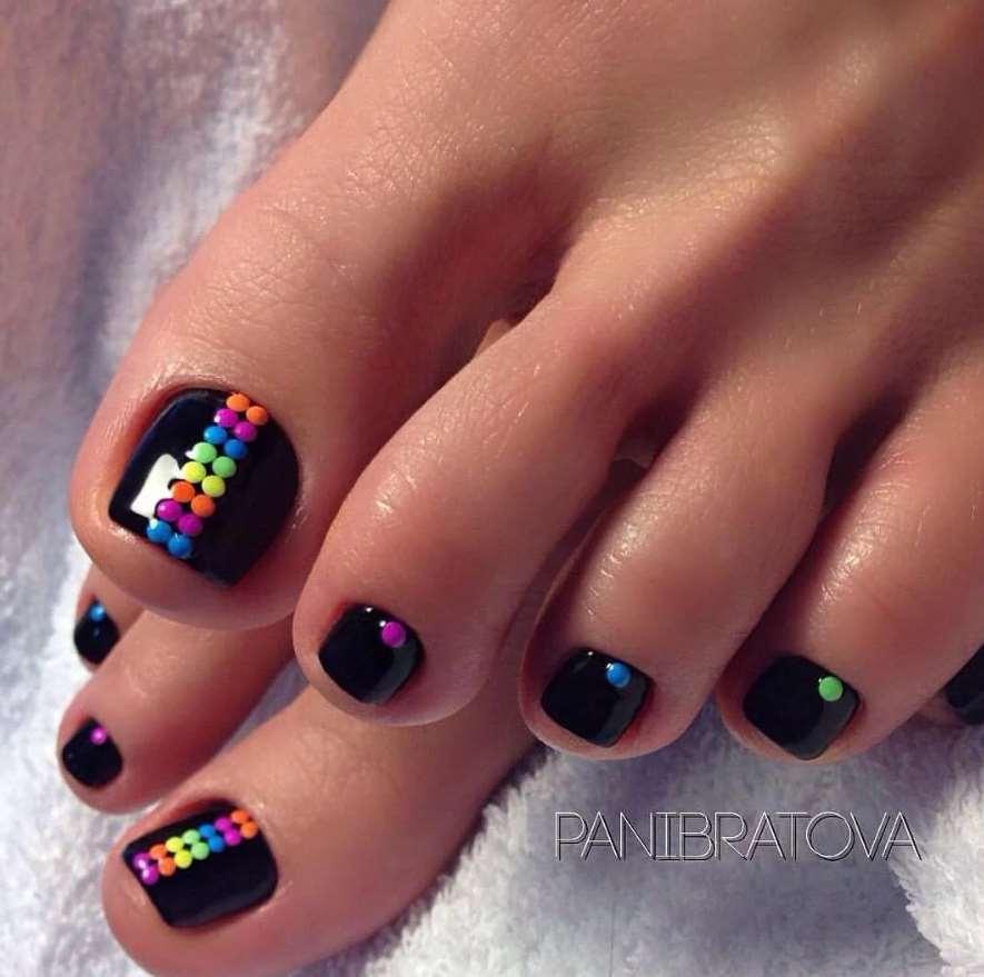 simple toe nail designs
