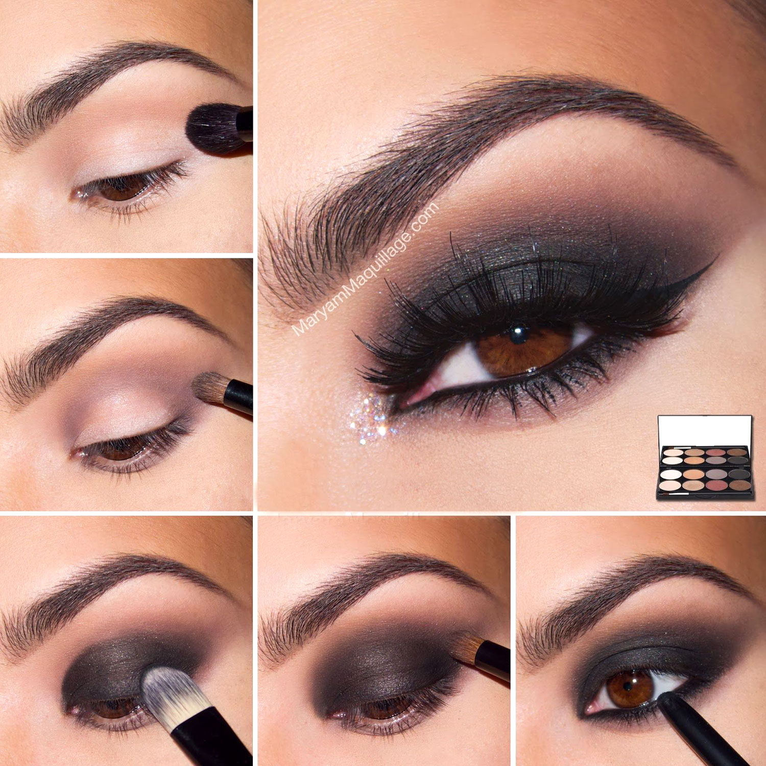 smokey-eye-makeup-for-brown-eyes
