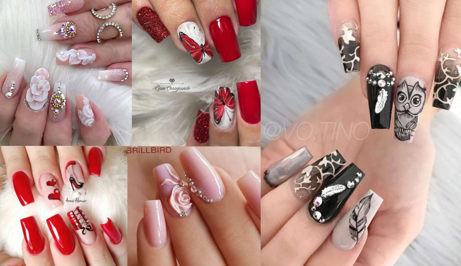 square acrylic nails