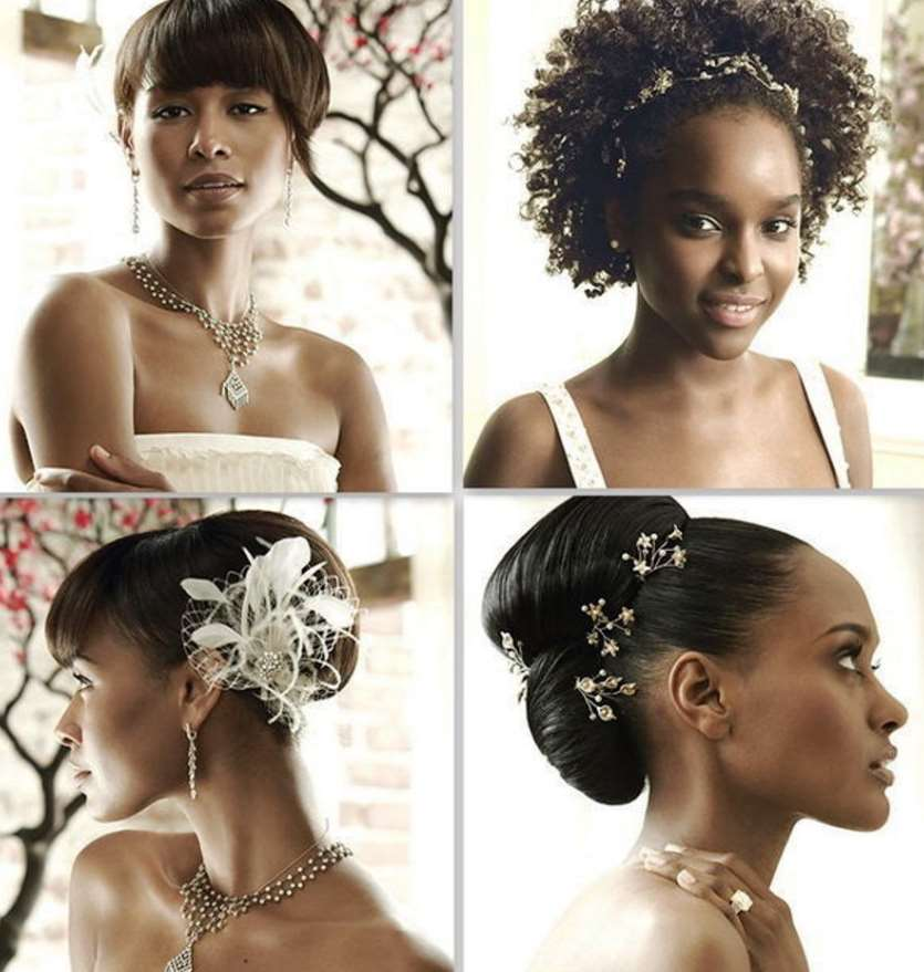 wedding hairstyles black hair
