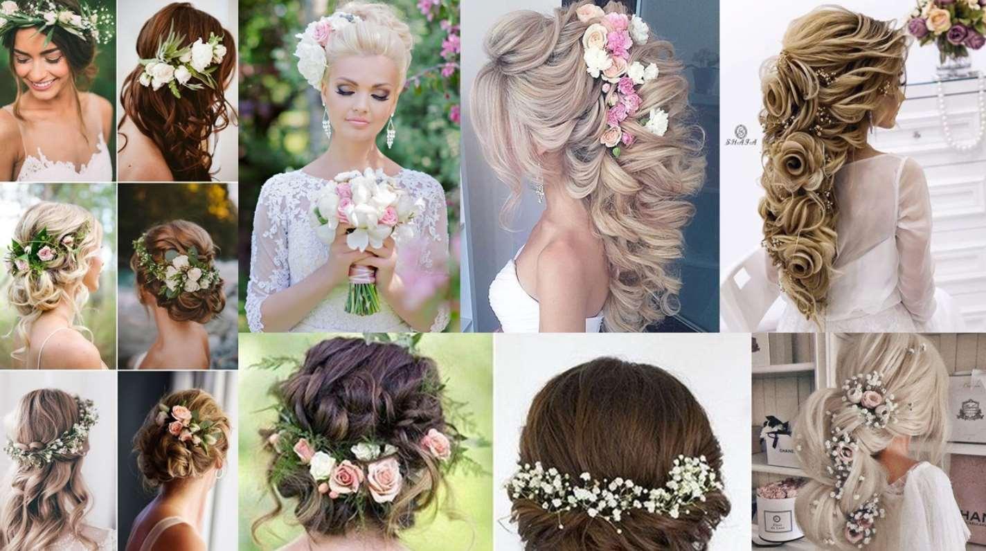 wedding hairstyles flower