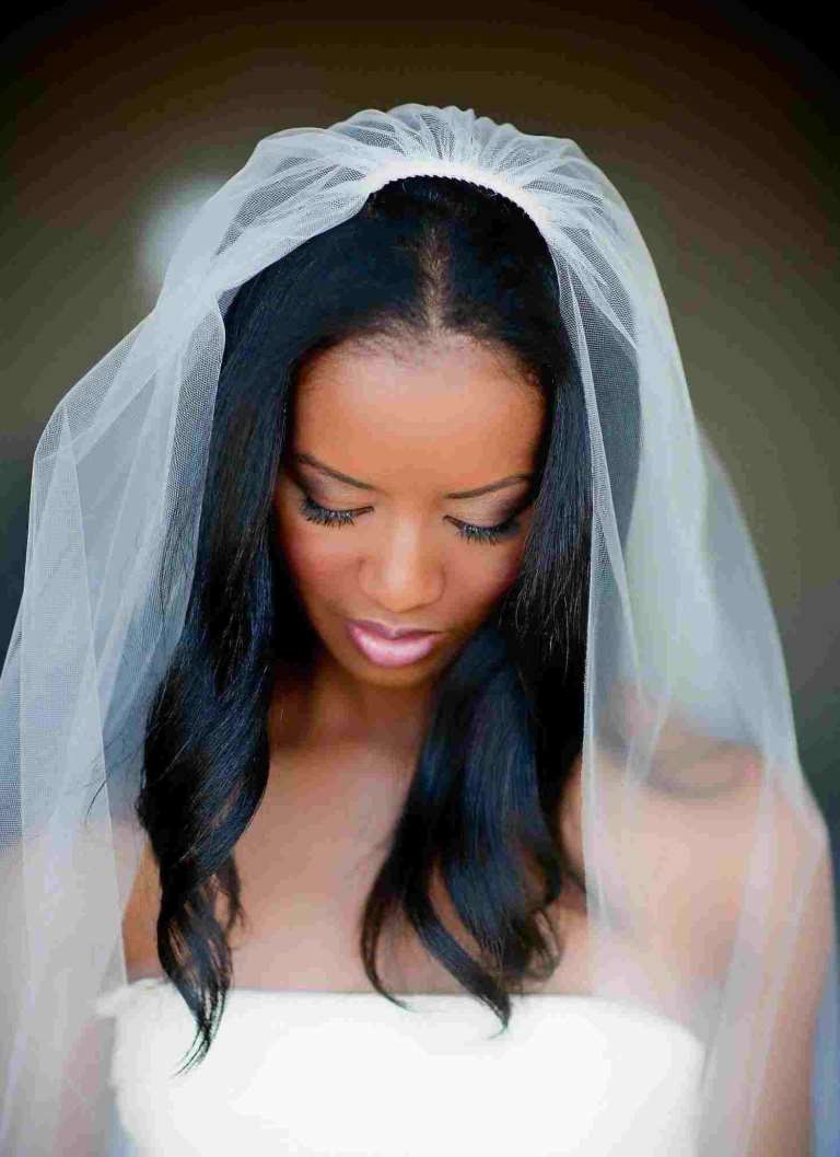 wedding hairstyles for black brides