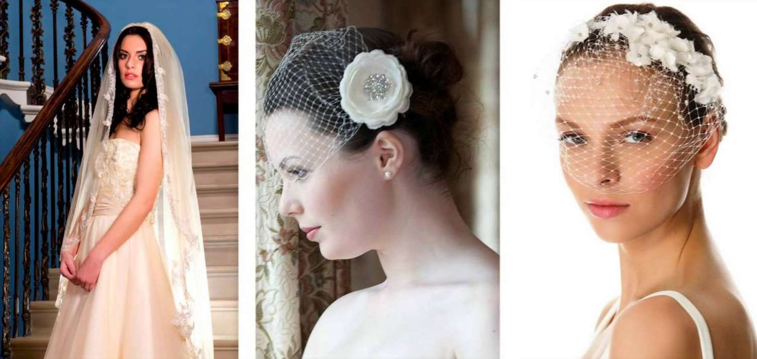 wedding hairstyles with vail