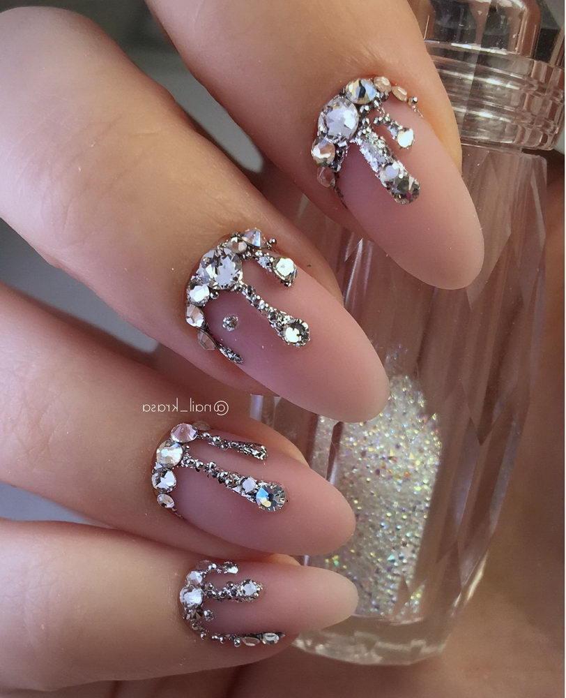 3D gems nails