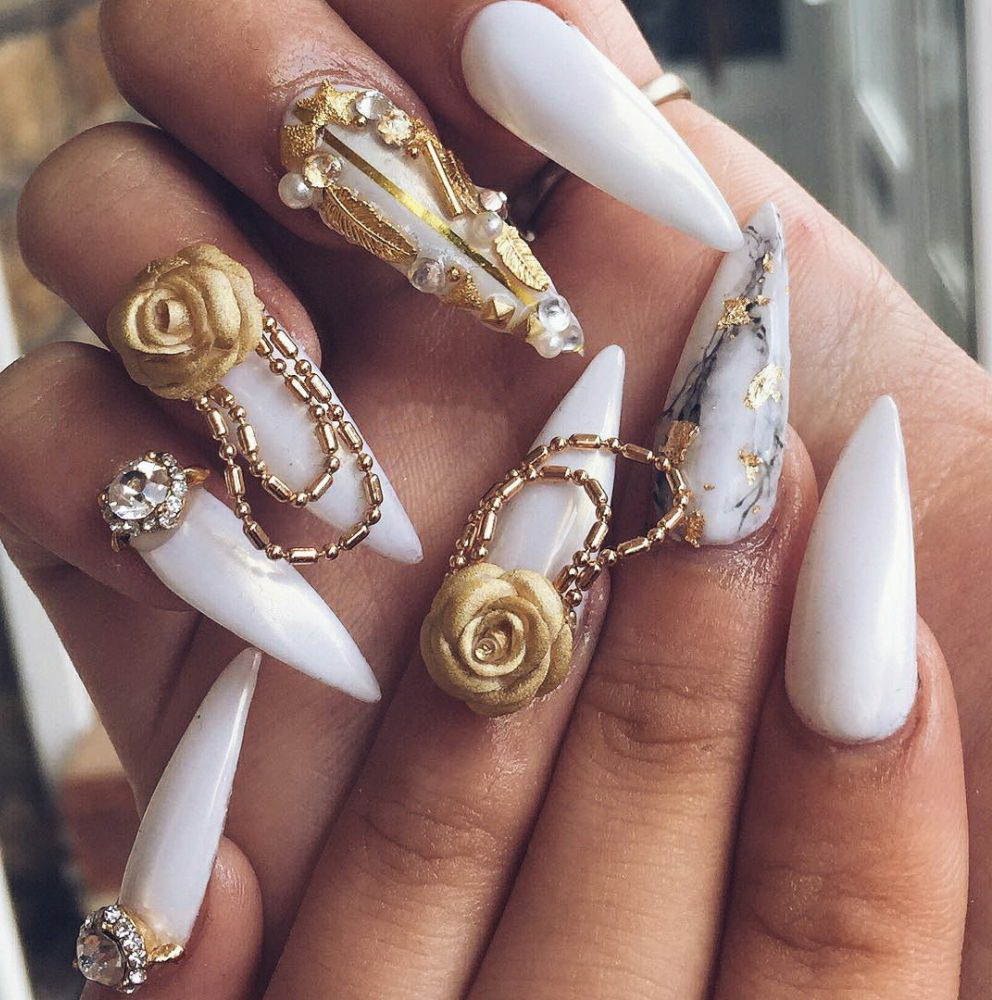 3D regal nails