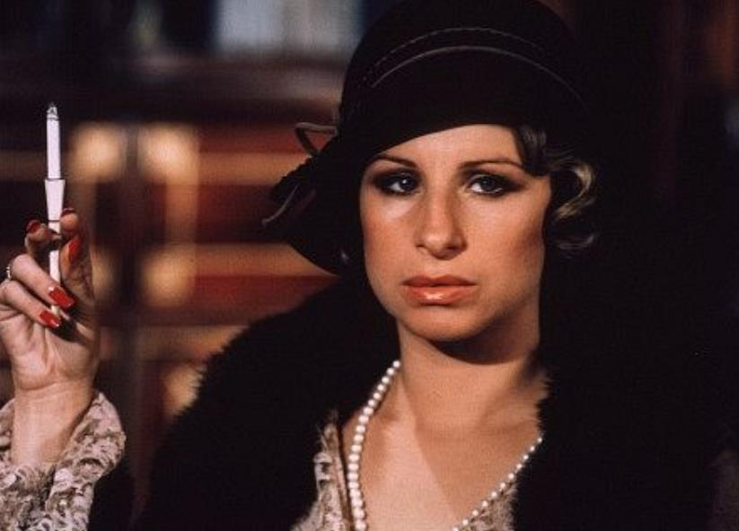 Barbra Streisand Funny Lady red nails