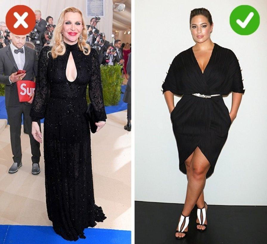 Black makes you look slim