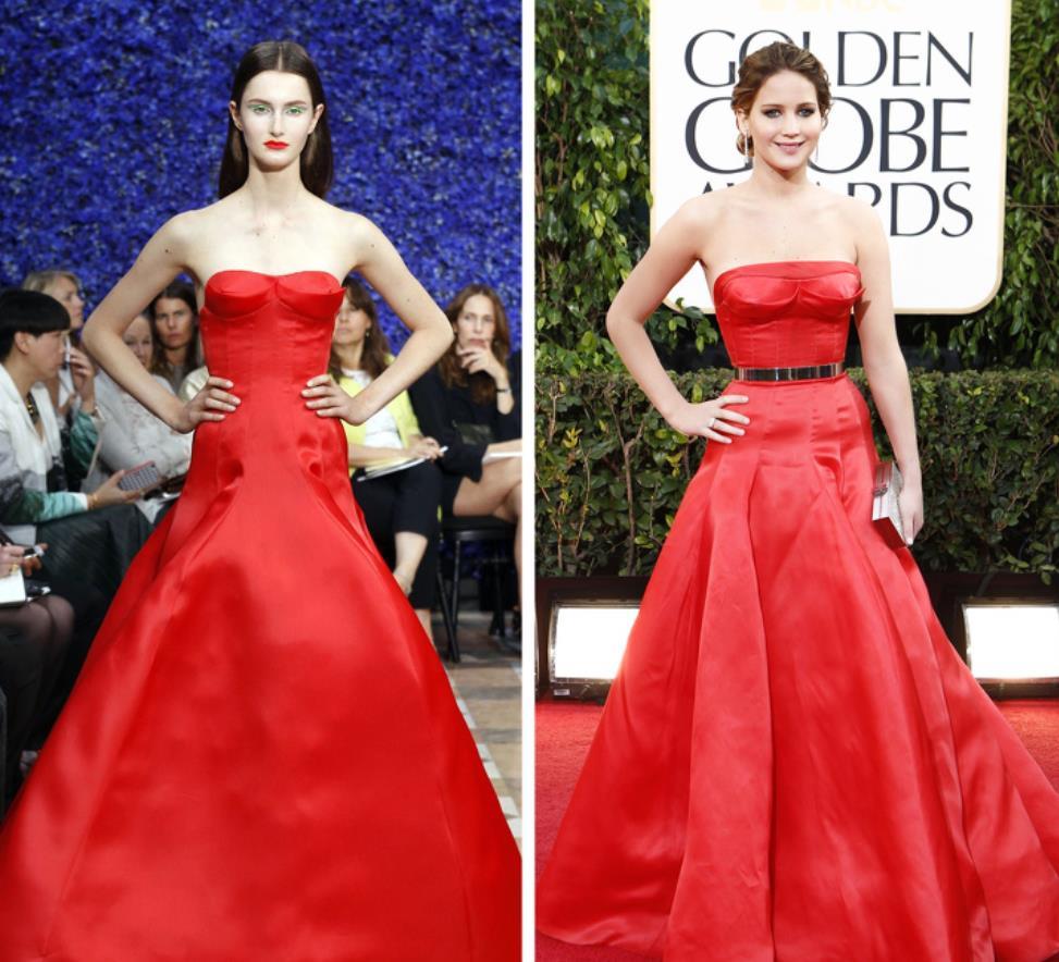 Christian Dior - Jennifer Lawrence