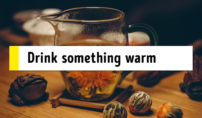 Drink a tea