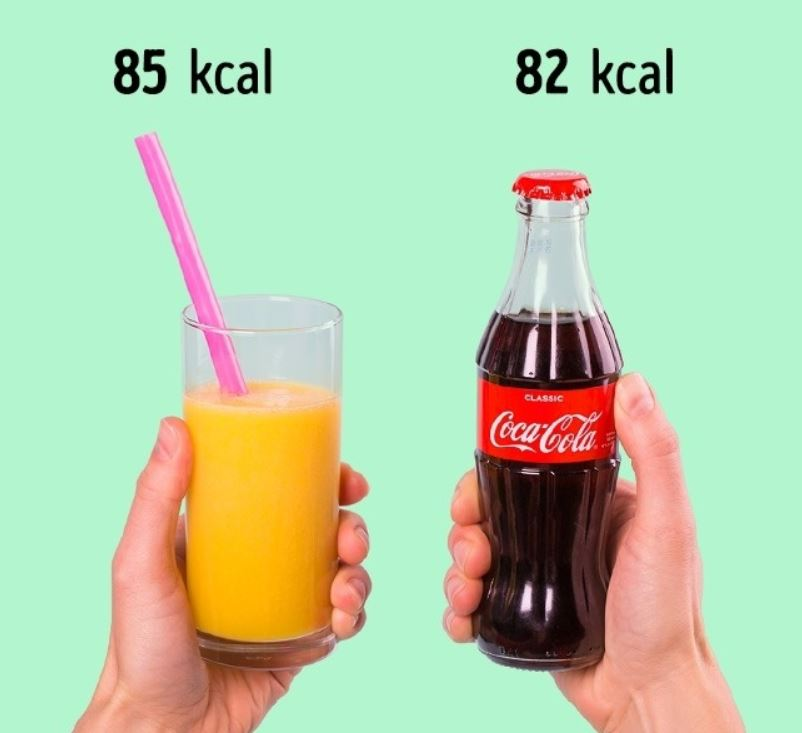 Food comparisons to help you when choosing what to eat