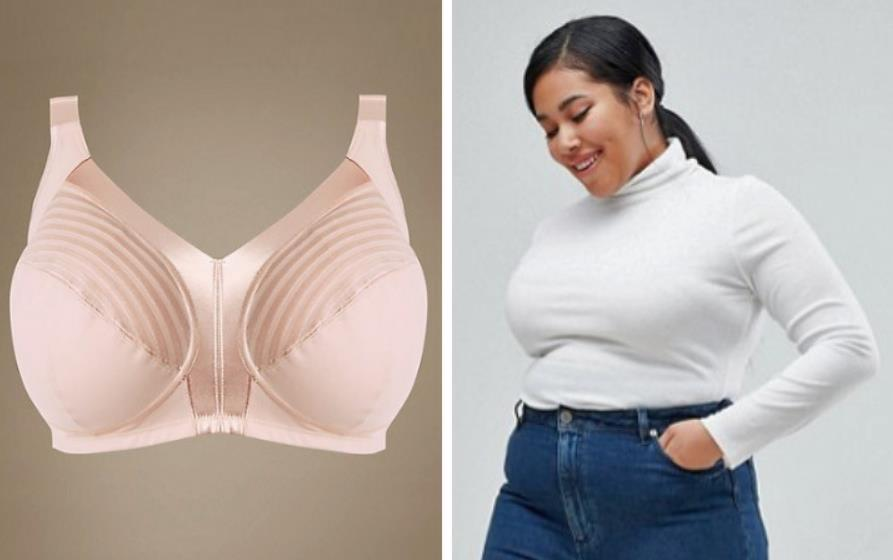 Full-support bras