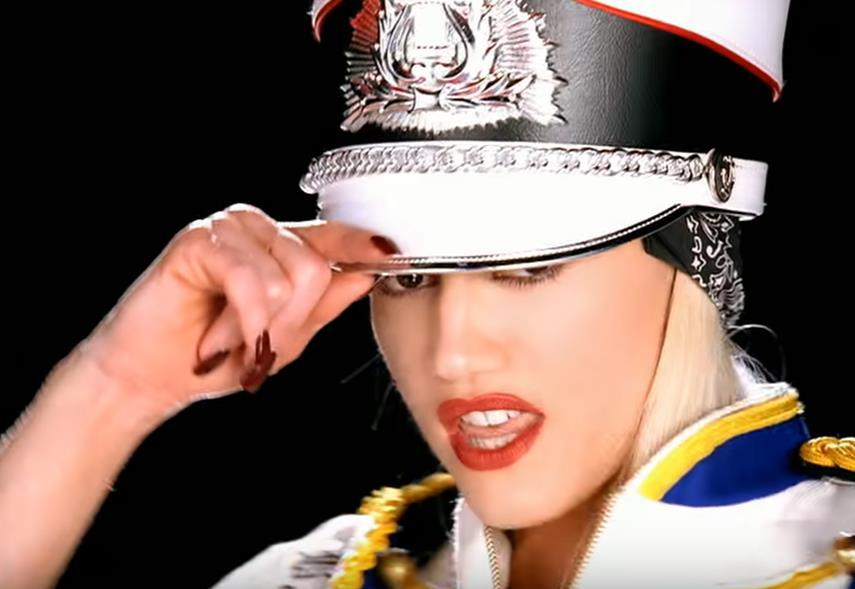 Gwen Stefani Hollaback Girl red nails