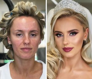 Incredible Wedding Makeup Transformations